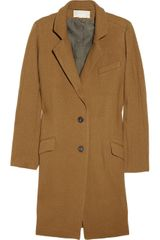 Vanessa Bruno Wool Blend Tweed Coat - Lyst