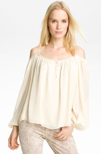 White Hippie Blouse 80