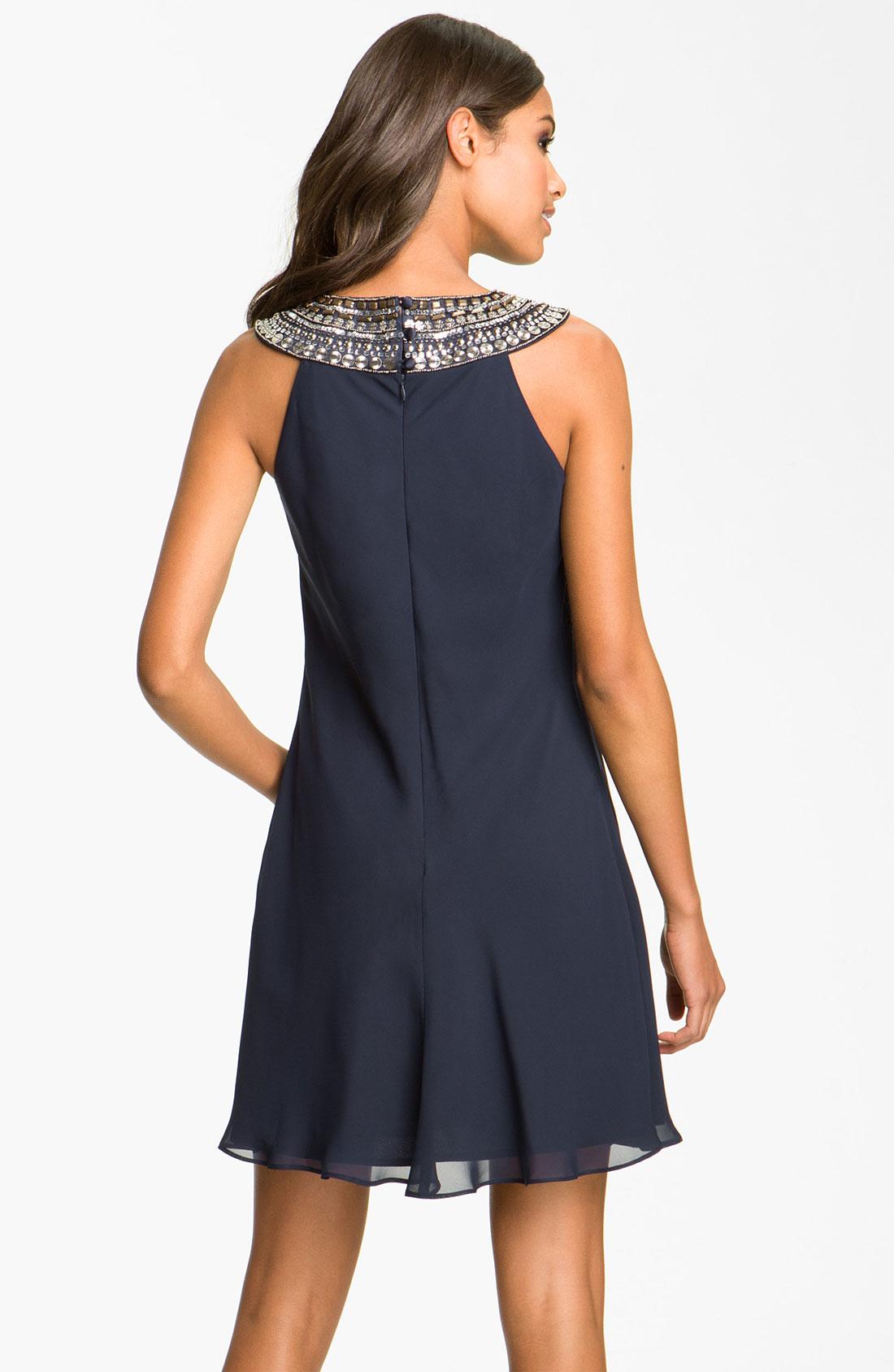 Платье трапеция шифон