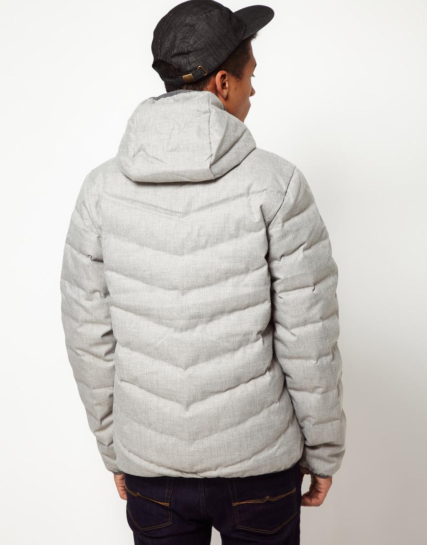 4b7621dc7943 Lyst - Nike Jacket Hooded Cascade 700 Down in Gray for Men