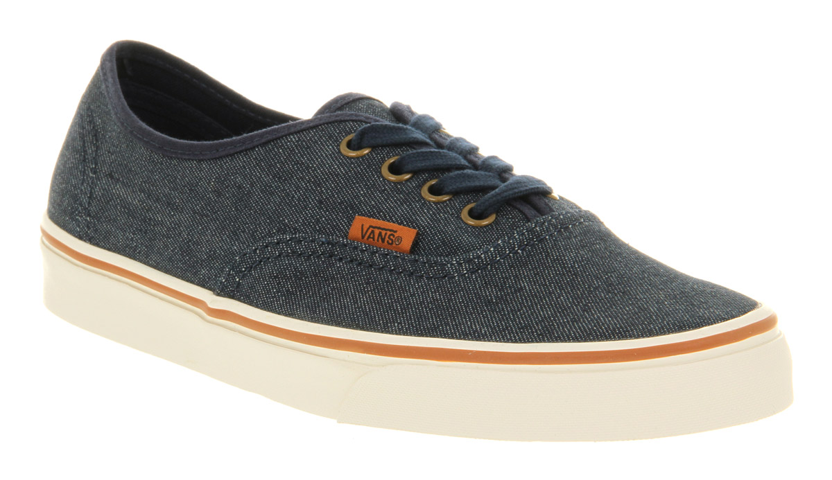 vans authentic denim shoes