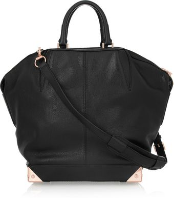 Alexander Wang Emile Textured Leather Tote - Lyst