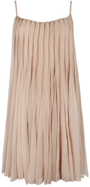 Allsaints Odette Dress in Pink (dusk) - Lyst