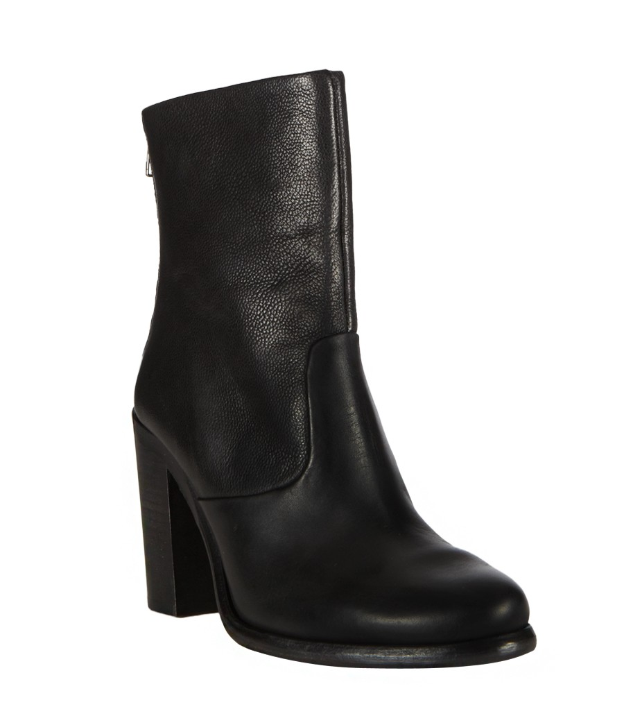 Allsaints High Hessian Boot In Black Lyst