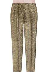 By Malene Birger Cortensa Metallic Jacquard Pants
