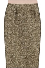 By Malene Birger Dandes Metallic Jacquard Skirt