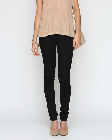 Cheap Monday Very Stretch Skinny Jeans in Black - Lyst