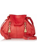 See By Chloé Cherry Textured Leather Shoulder Bag - Lyst