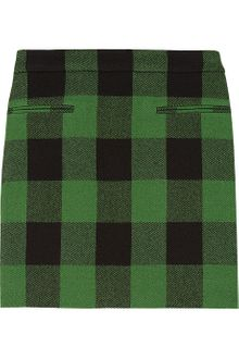 Stella McCartney Tive Plaid Wool Skirt - Lyst