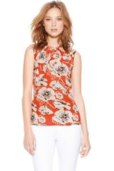 Tory Burch Thora Top - Lyst