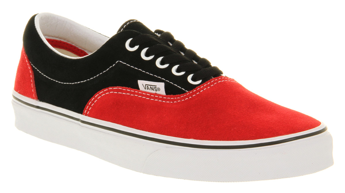 Vans Red And Black