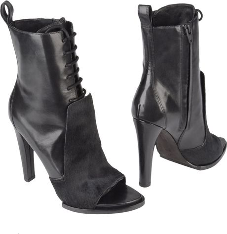 Alexander Wang Ankle Boots in Black - Lyst