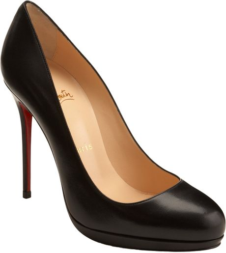 Christian Louboutin Filo in Black - Lyst