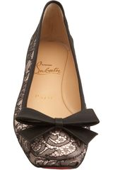 Christian Louboutin Boudoir Flat in Animal (nude) - Lyst