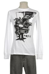 DSquared2 Long Sleeve Tshirt - Lyst