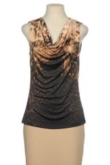 Elie Tahari Sleeveless T-Shirt - Lyst
