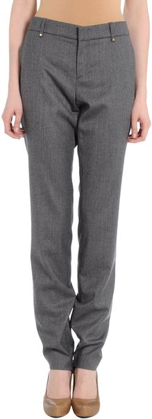 Gucci Casual Pants in Gray (lead) - Lyst