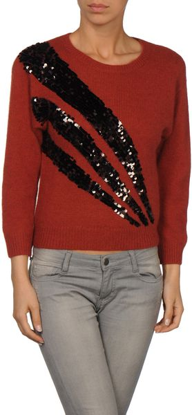 Marc By Marc Jacobs Long Sleeve Sweater - Lyst