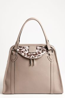 Marc Jacobs Serengeti Wellington Leather Satchel - Lyst