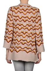 Missoni Cardigan in Multicolor (mauve) - Lyst