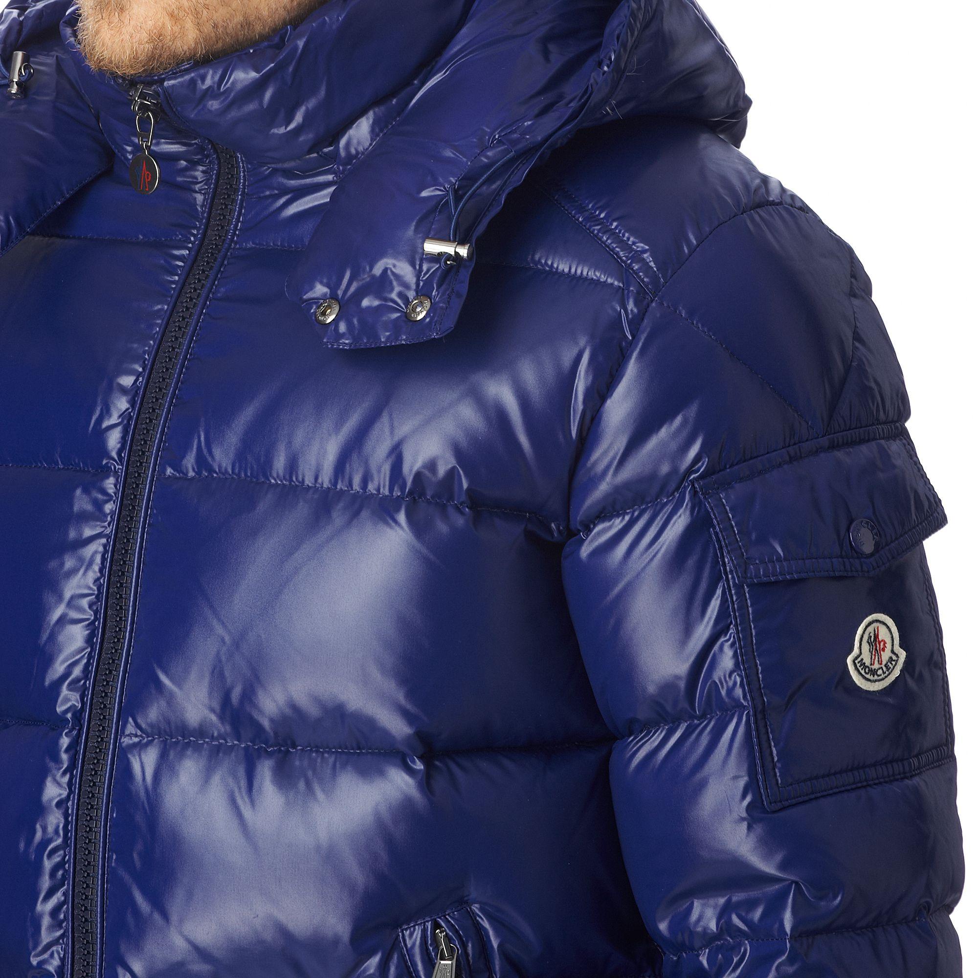 moncler jacket blue