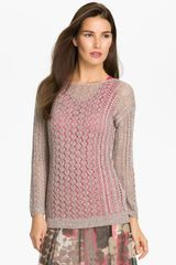 Nic + Zoe Easy Mix Sweater - Lyst