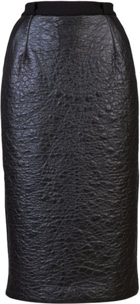 Preen Saloon Skirt in Black - Lyst