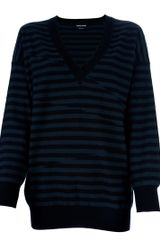 Sonia Rykiel Striped Sweater - Lyst