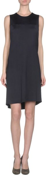 Balenciaga Short Dress in Blue - Lyst