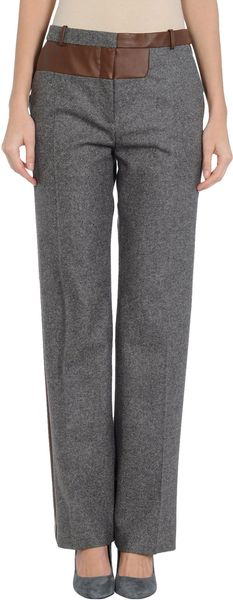 Celine Dress Pants in Gray (grey) - Lyst