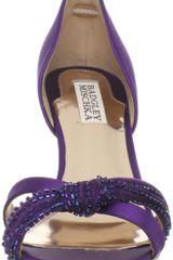 Badgley Mischka Ryanne Pump in Purple (plum) - Lyst