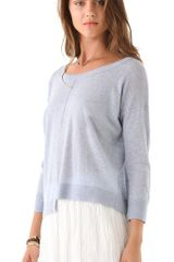 Club Monaco Lucian Sweater in Blue - Lyst