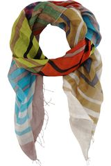 Epice Striped Scarf - Lyst