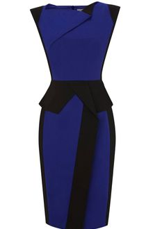 Karen Millen Colourful Sculptural Dra - Lyst