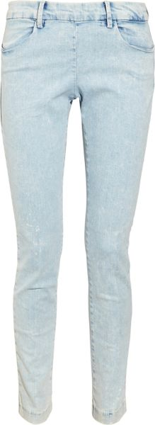Acne Skin Straightleg Jeans in Blue (denim) - Lyst