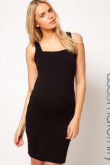 Asos Dress with Square Neck - Lyst