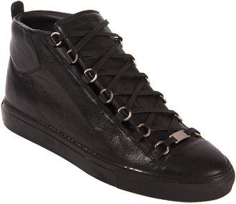 Balenciaga Arena High Trainers - Lyst