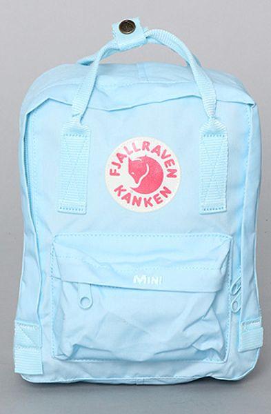 Backpack With Wheels  Sale Fjäll Räven Kanken Mini Backpack Light Blue d3672a6291f20