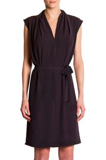Lanvin V-Neck Dress - Lyst