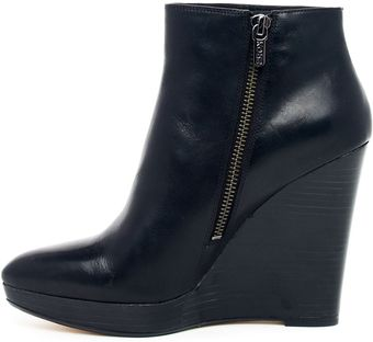 Michael Kors Korsshailyn Wedge Ankle Boot - Lyst