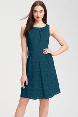 Adrianna Papell Crochet Aline Dress - Lyst