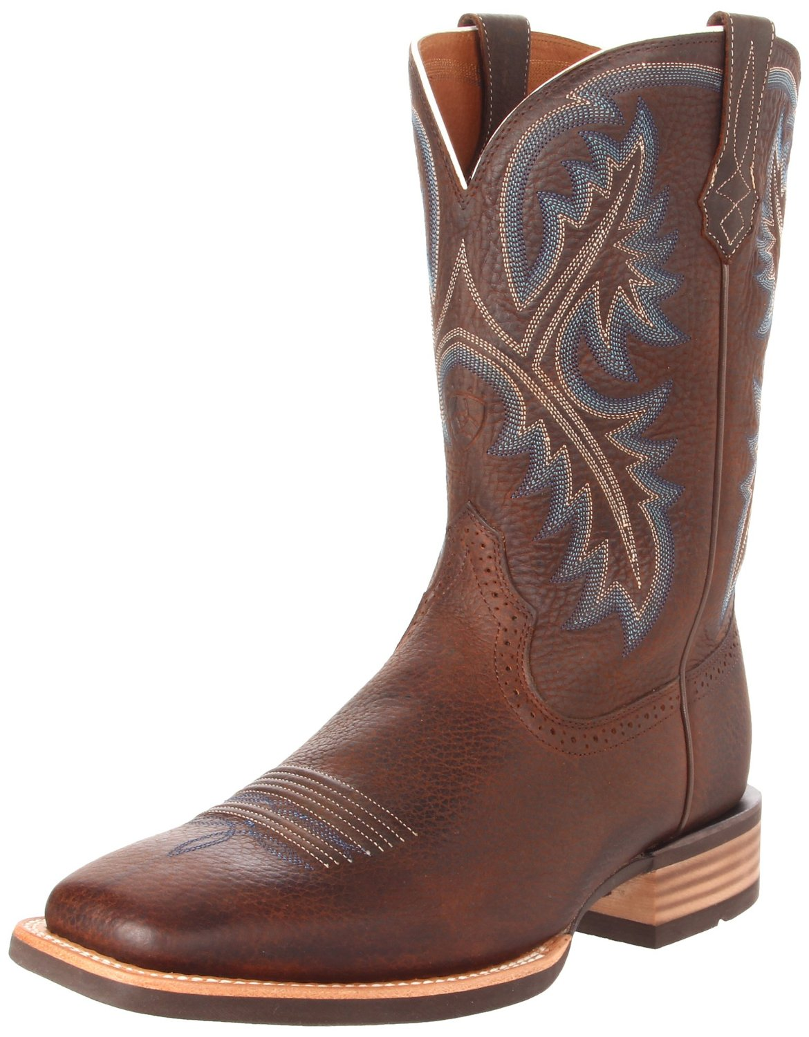 ariat ariat mens quickdraw western boot in brown for