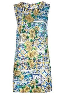 Dolce & Gabbana Embellished Dress - Lyst