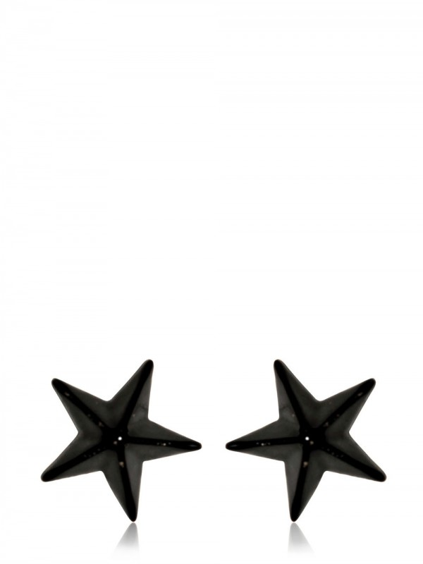 lyst givenchy star earrings in black for men