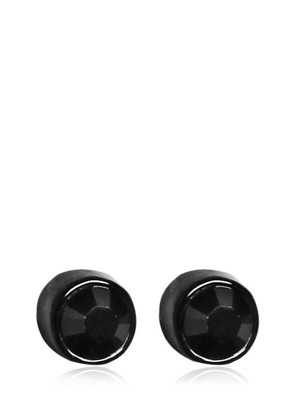 Givenchy Swarovski Earrings in Black for Men