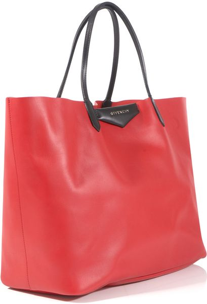 Givenchy Antigona Shopper Bag in Red - Lyst