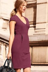 H&m Dress in Pink (cerise) - Lyst