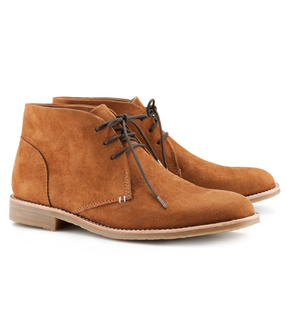 h m boots in brown for desert lyst