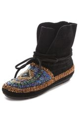 House Of Harlow Madison Beaded Moccasins - Lyst