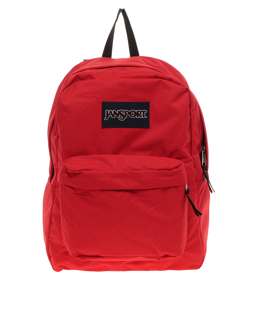 Jansport Superbreak Backpack in Red for Men | Lyst
